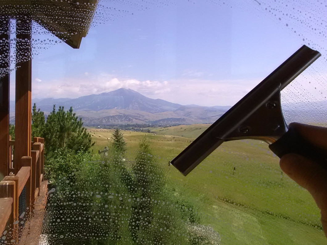 Freshly Cleaned Glass Can Make A Big Impact in your Bozeman, MT home or office!